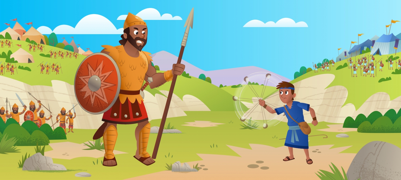 I cinque sassi di Medjugorie - Davide contro Golia